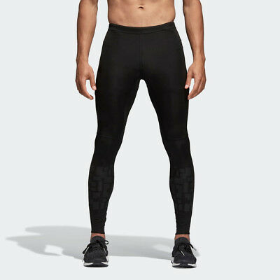 BNWT Custom Adidas Men/'s Supernova Climalite Long Tights Workout Pants MSRP $100