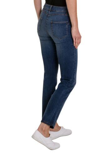 Ex M/&S Mid Rise Ladies Sculpt /& Lift Added Stretch Denim Jeans Size 6-24 UK