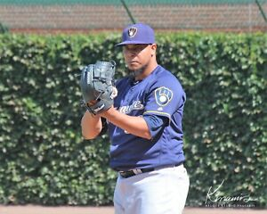 Wily Peralta Milwaukee Brewers Game Action Orig PhotoArt Pic Var Sizes & Options