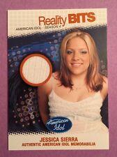 2005 American Idol Season 4 Reality Bits 3 card lot Jessica Sierra & others READ