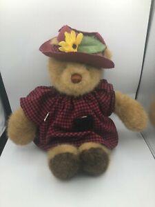 Vintage-Gund-1985-Bear-Tales-Brown-Teddy-Plush-Soft-Stuffed-Toy-Animal-Doll