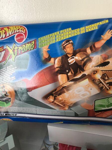 Amical Hot Wheels Xtreme Tony Hawk Skate Park Mattel Rare 1999