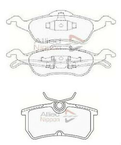 ford focus mk1 1 6 1 8 2 front and rear brake pads 1998 2004 free 2004 Ford Focus Hatchback image is loading ford focus mk1 1 6 1 8 2