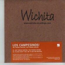 (CV848) Los Campesinos! We Throw Parties, You Throw Knives - 2007 DJ CD