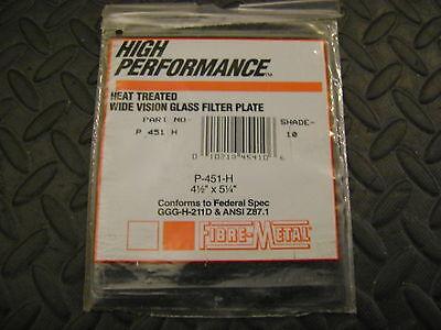"""2/"""" x 4 1//4/"""" kh615 ....3 piece lot Welding Glass Filter Plate  shade 10"""