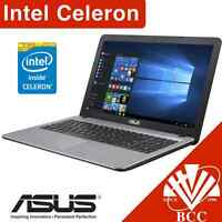 Asus A540sa 15.6 Intel Celeron Duo Core 500gb 4gb Usb3 Dvd Windows 10 Laptop