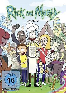 rick and morty complete season 2 dvd pal region 2 new ebay