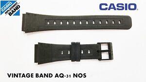 VINTAGE-CASIO-ORIGINAL-BAND-AQ-31-NOS