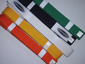 MARTIAL-ARTS-BELTS-Most-Colours-Available-Tae-Kwon-Do-or-Kararte
