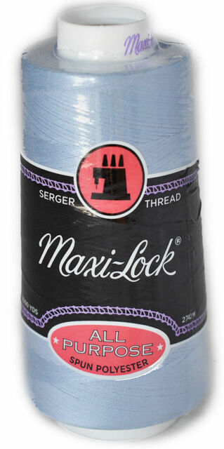 Maxilock Serger Thread in Lucerne Blue 3000yd Spool
