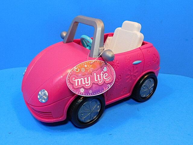 My Life Mini Car Fuschia Pink  for Mini doll  New!!