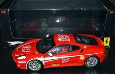 Mattel Hot Wheels Elite 1/18 scale Car Ferrari F430 Challenge Race Car Red J2923