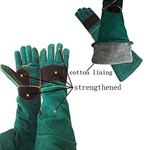 "New Well 23.6/"" Animal Pet Cat Bird Snake Handling Anti-bite//scratch Gloves FS"