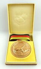Medaille: Sieger der 100m Hindernisbahn Feuerwehrkampfsport bronzefarben e1591