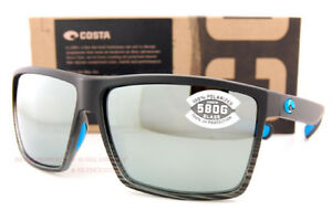 9268a7e296 Costa Del Mar Sunglasses RINCON Matte Smoke Crystal Fade Gray Silver ...