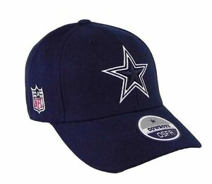 Dallas-Cowboys-Basic-Navy-Blue-Wool-Sideline-On-Field-Adjustable-Hat-Cap-NFL