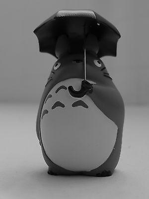 "Cute STUDIO GHIBLI My Neighbor Totoro with Umbrella Resin 4""/10CM Figure Statue"