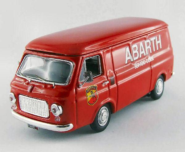 Fiat abarth corse 238 servizio 1970 1 43 modell rio4391 rio