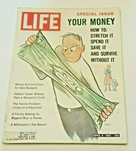 April-6-1962-LIFE-Magazine-60s-advertising-COKE-Ad-FREE-SHIP-4-Stretch-Money