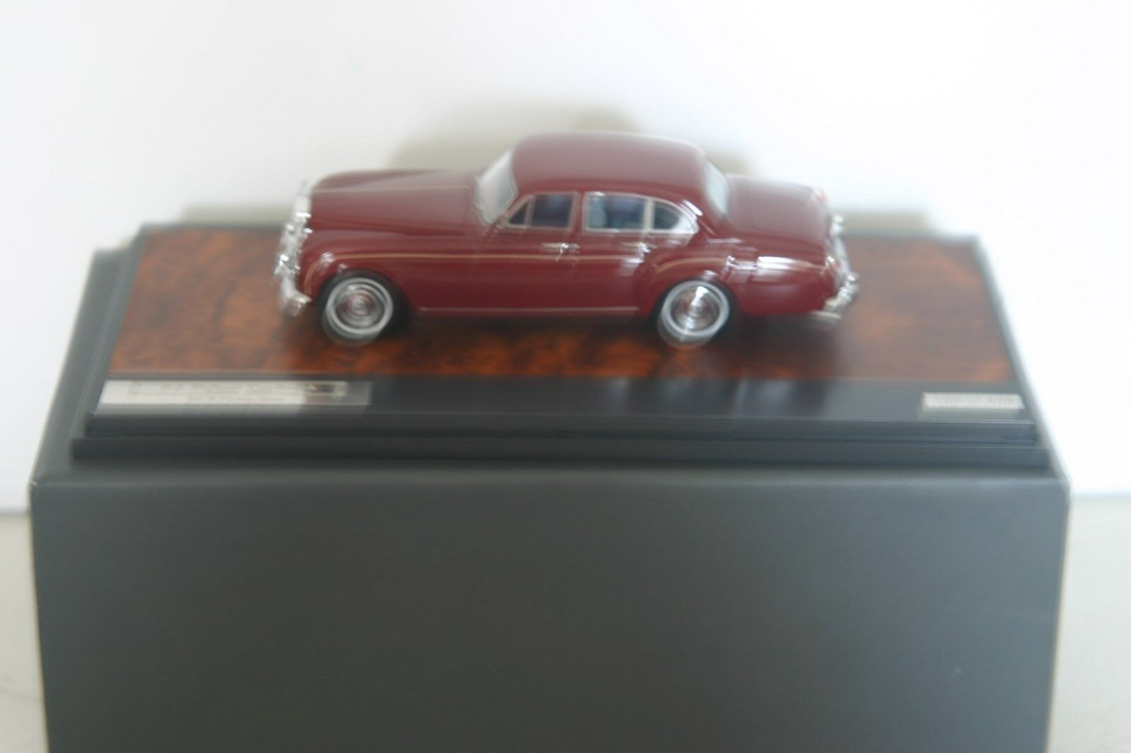 MATRIX 11705-082 ROLLS ROYCE H J MULLINER SCIII FLYING SPUR 1965, DARK RED