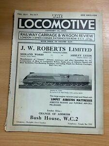 14-Jan-1939-034-Locomotive-Chemin-de-Fer-Transport-amp-Wagon-Analyse-034-557-Grand
