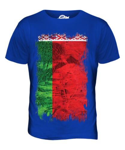 FOOTBALL BELARUSIAN GIFT SHIRT BELARUS GRUNGE FLAG MENS T-SHIRT TEE TOP BIELARU