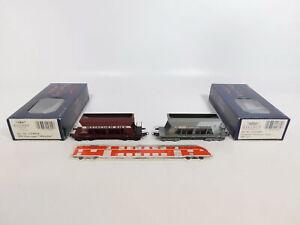 CI941-0-5-2x-Liliput-H0-Kieswagen-ohne-Radsaetze-SBB-NEM-L224684-L224604