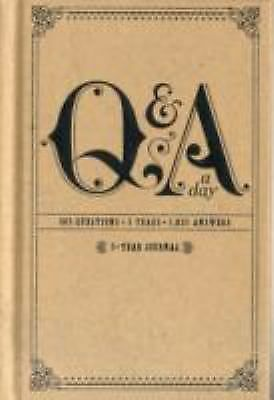 Q and A a Day : 5-Year Journal by Potter Style (2011, Diary, Journal, Blank...