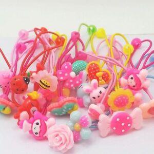 10Pcs-Baby-KIds-Girls-Hair-Band-Ties-Rope-Ring-Elastic-Hairband-Ponytail-Holder