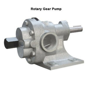 Capacity 50 LPM Heavy duty High Temperature Rotary Gear Pump HGN 100