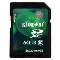 Kingston 64 Gb Sdxc Speicherkarte, Class 10 - 10mb/s