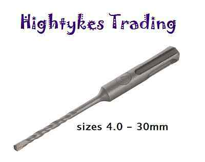 SDS Plus Hammer Masonary Drill bit Bits 4mm All Sizes Available 30mm SDS