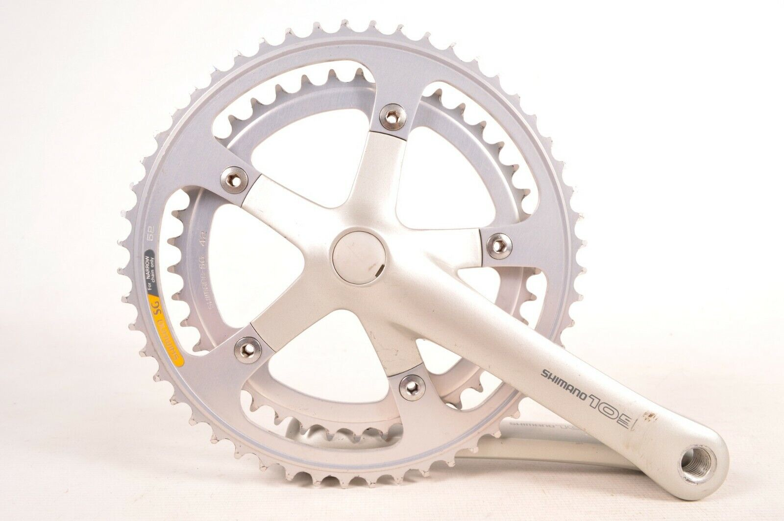Shimano 105 FC-1055 Bicycle Crankset 170 mm Double 42 52 T