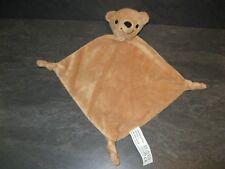 doudou ours marron noir FL b.v état neuf