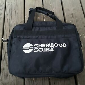 Sherwood-Scuba-Padded-Zipper-Dive-Regulator-Carry-Gear-Bag-Nylon-14x16
