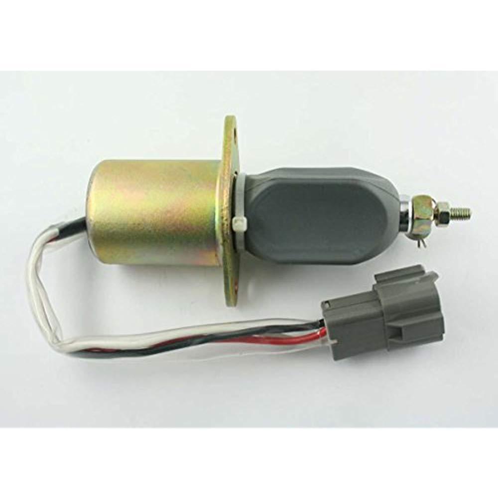 Fuel Shut Off Solenoid 3A 12 VDC Fits KUBOTA W1751ES W1751ES W1751ES Replaces 1751ES-12A3UC12B1S 099d70