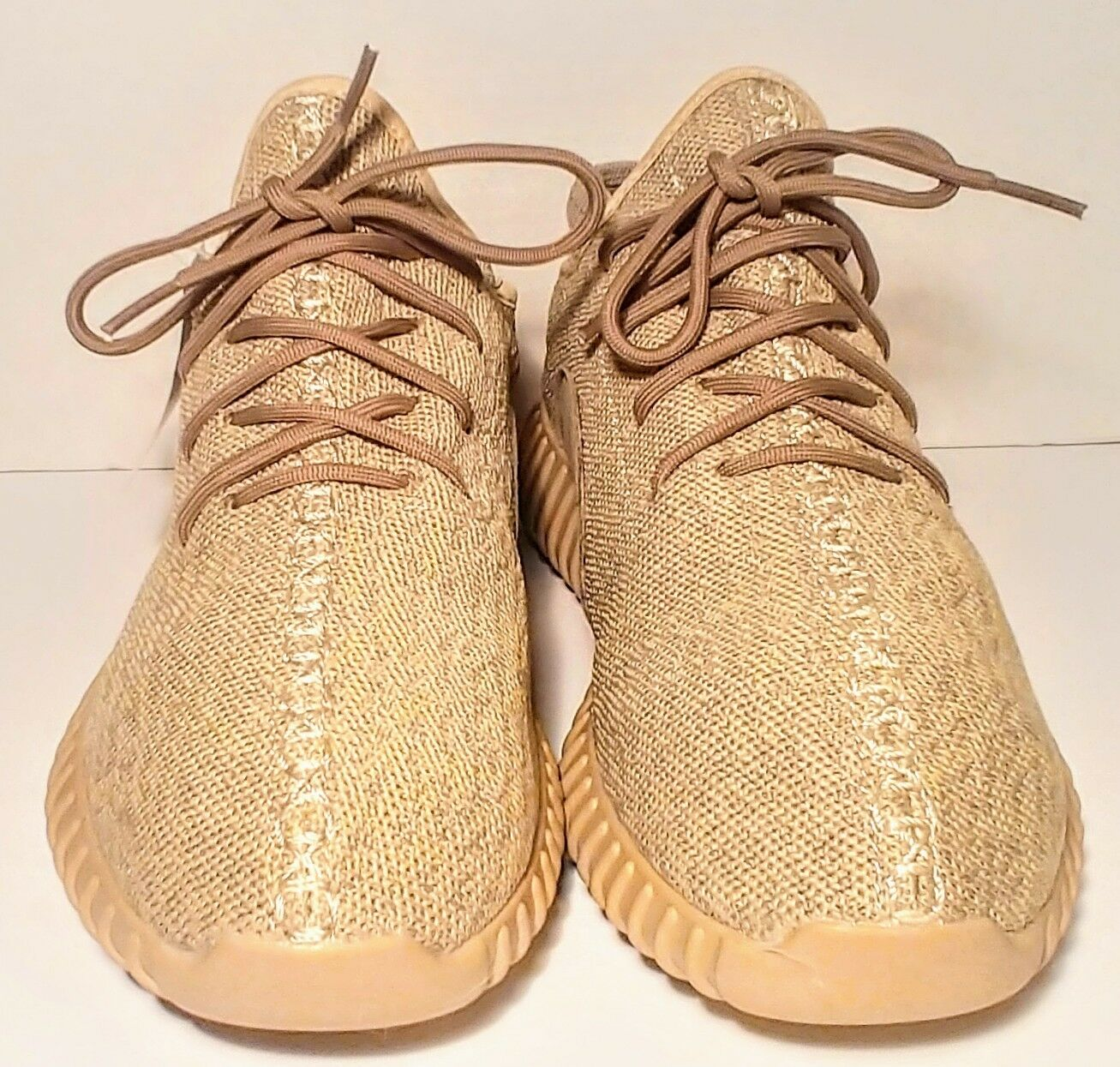 Adidas Yeezy Boost 350 Oxford Tan Size 10 AQ2661 Style Code NWOB