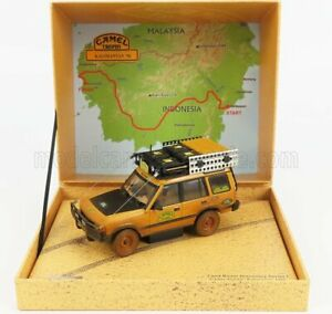 ALMOST-REAL 1/43 LAND ROVER   LAND DISCOVERY MKV N 0 RALLY CAMEL TROPHY KALIM...