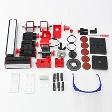 8 In 1 Mini Multipurpose Machine Wood Metal Drill Making Tool Lathe Milling Kit