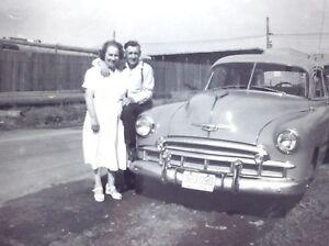 1950-Chevrolet-Styline-Chevy-Classic-Automobile-Car-Photograph-Vintage-H049