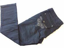 NEW AFFLICTION Jeans ACE Motor Club Black Men 38W 35L Men Size 38X35