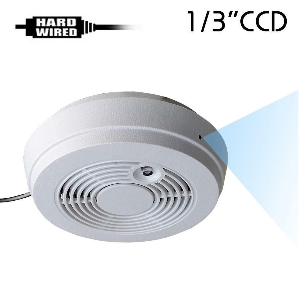 Hidden Dummy Smoke Detector Alarm Covert Cctv Spy Gadget Camera