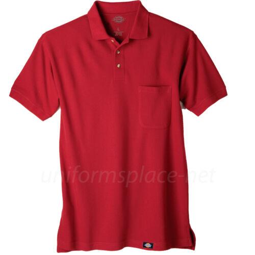 Dickies polo Goft Shirts Mens Short Sleeve polo Shirt work T shirt #5521