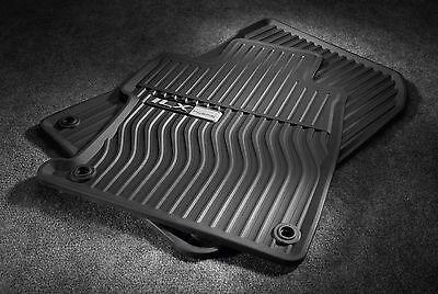 Genuine OEM 2014-2017 Acura RLX Black All Season Winter Weather Floor Mats