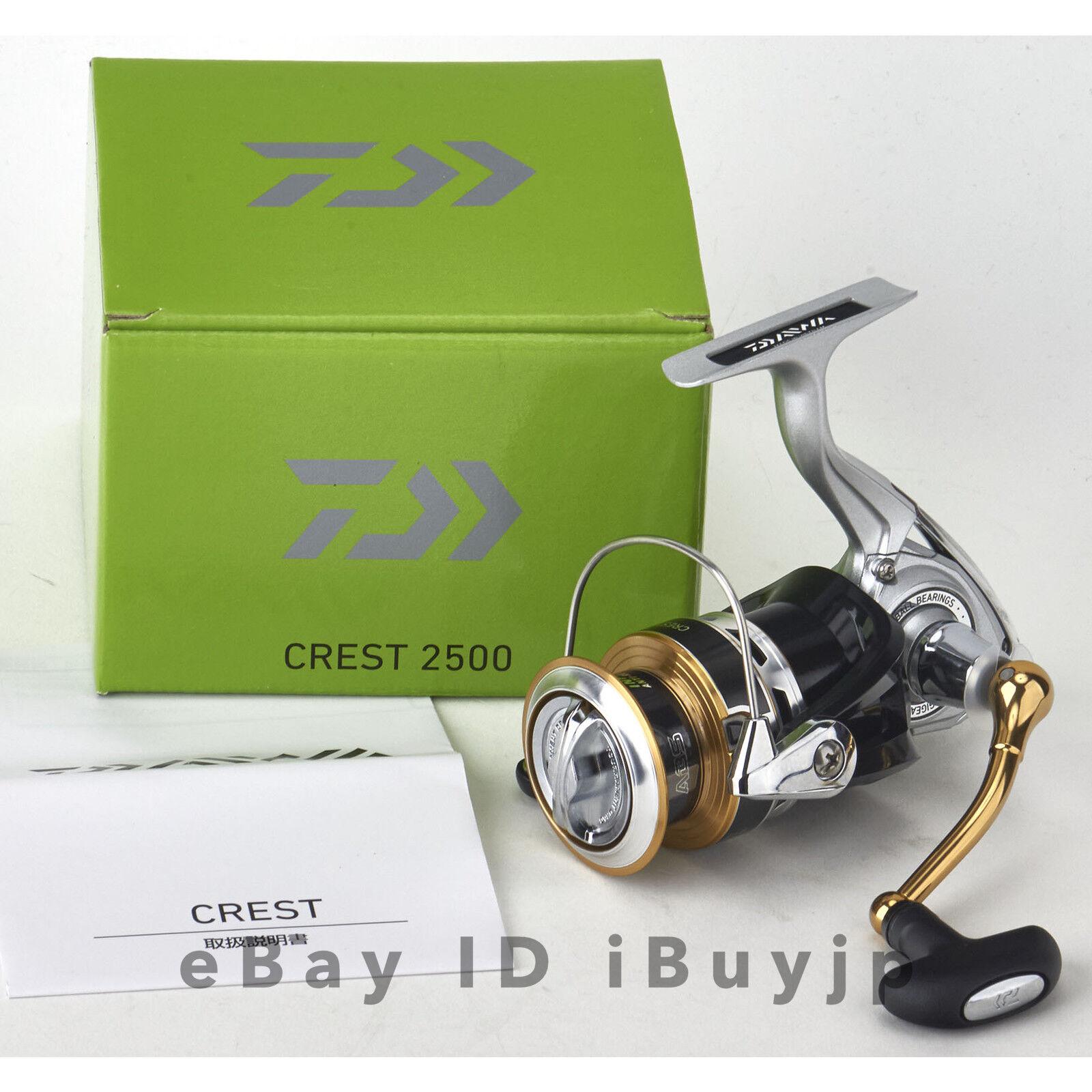 Daiwa  16 Crest 2500 Cocherete giratorio para Agua Salada 032780  opciones a bajo precio