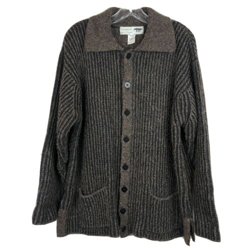 Inis Meain Alpaca & Wool Blend Knit Sweater Pub Sh