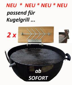 Flammlachsbrett-Raeucherbrett-fuer-Holzkohle-Kugelgrill-Rundgrill
