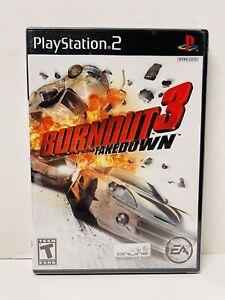 Burnout 3: Takedown PS2 (Sony PlayStation 2, 2004) Brand New Sealed Black Label