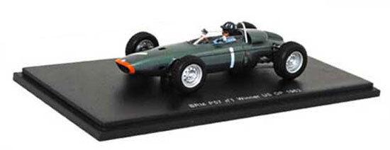 SPARK S1152 BRM P57   1 WINNER US GP GP GP 1963-GRAHAM HILL SCALA 1/43 fde49b