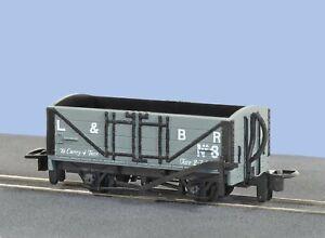Peco-GR-200D-OO-9-Gauge-L-amp-B-Open-Wagon-No-8